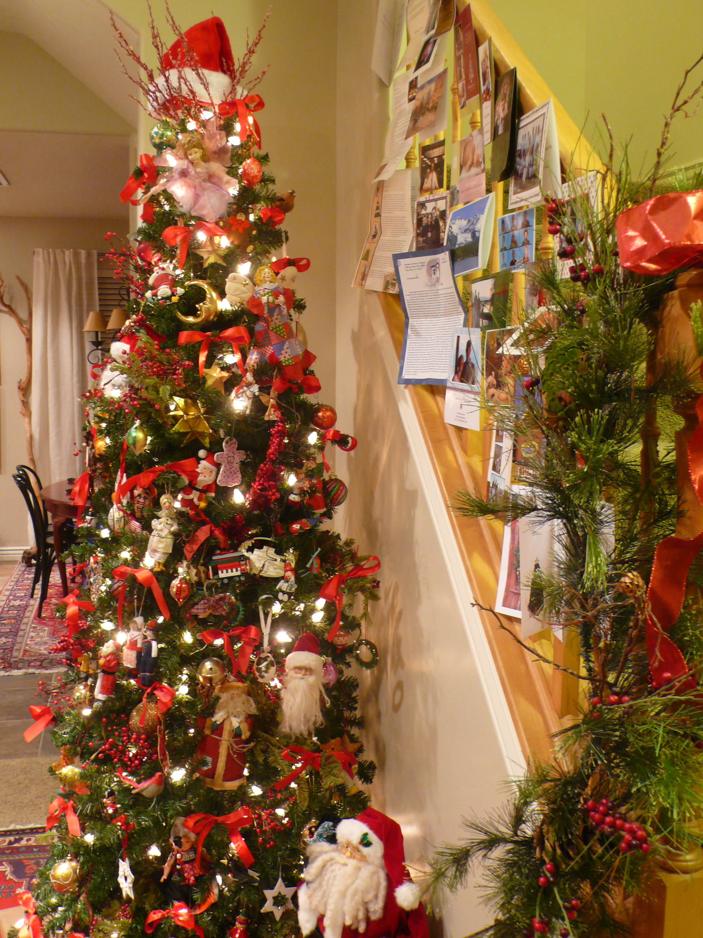 Tall Skinny Christmas Tree Decorating Ideas.When Do You Put Up Your Christmas Tree The Apron Stage